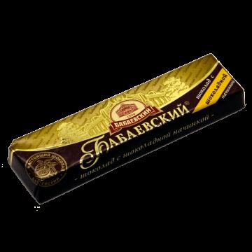 Бабаевский Шоколадный батончик с шоколадной начинкой 50 г. (20 шт.)